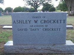Anna M <i>Walkup</i> Crockett