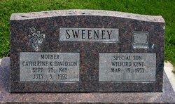 Catherine K <i>Davidson</i> Sweeney