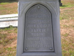 Minnie E. <i>Rankin</i> Bloomingdale