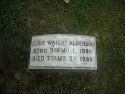 Elsie <i>Wright</i> Alderson