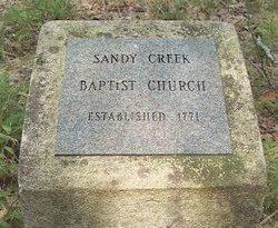 Sandy Creek Baptist Church Cemetery