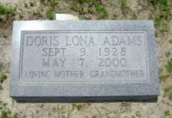 Doris Lona Adams