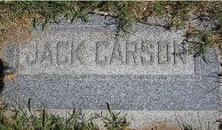 John Rayson Jack Carson