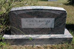 Mary Ethel Koontz