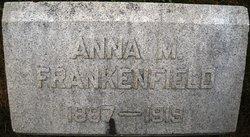 Anna M. <i>Strouse</i> Frankenfield