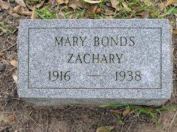 Mary Parthenia <i>Bonds</i> Zachary