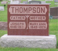Mary Ann <i>Nevins</i> Thompson