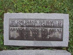 Amanda <i>Pennington</i> Ament