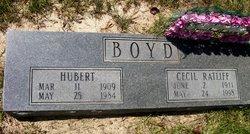 Cecil Lee <i>Ratliff</i> Boyd