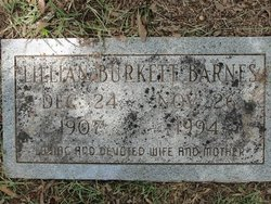 Lillian Estelle <i>Burkett</i> Barnes
