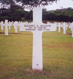 PFC Elkoney A Allison