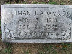 Herman T Adams, Sr