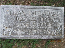 Lillian Florence <i>Taff</i> Adams
