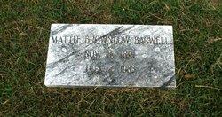 Mattie <i>Brownlow</i> Bagwell