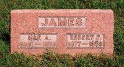 Mae A <i>Sanborn</i> James
