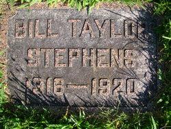 Bill Taylor Stephens