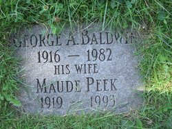 Maude <i>Peek</i> Baldwin