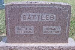 Hattie May <i>Phinney</i> Battles