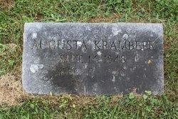 Augusta <i>Engelhardt</i> Krambeer