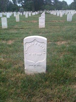 Pvt Charles B. Holmes