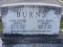 Dora <i>Hayes</i> Burns
