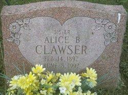 Alice B Clawser