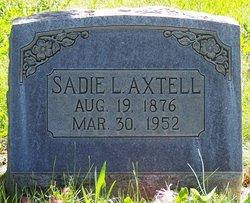 Sadie Luetta <i>Badger</i> Axtell
