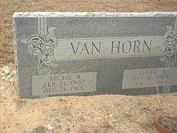 Archie Randolph Van Horn