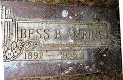 Bessie B Bess <i>Froman</i> Amrine