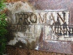 Minnie Fransina <i>Dickey</i> Froman