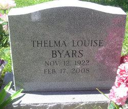 Thelma Louise <i>Hill</i> Byars