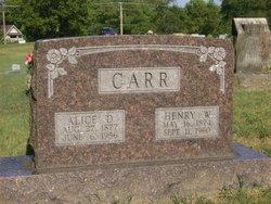 Henry Washington Carr