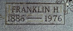 Franklin Henry Anderson