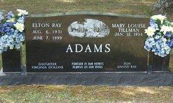 Elton Ray Adams