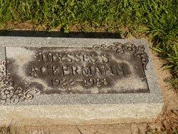 Ulysses Stanley Ackermann