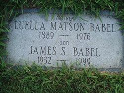 Luella <i>Matson</i> Babel