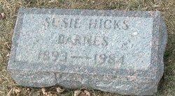 Susie <i>Hicks</i> Barnes