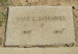Marie L <i>De La Fontaine(?)</i> Carragher