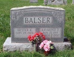 Raymond E. Balser