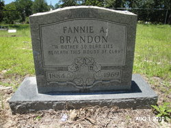 Fannie A <i>Stott</i> Brandon