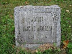 Hansine <i>Pedersen</i> Andersen
