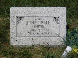 June I. <i>Smith</i> Ball