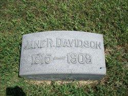 Jane Rebecca <i>Hufford</i> Davidson