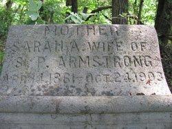 Sarah <i>Harris</i> Armstrong
