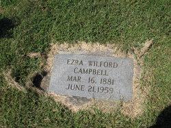 Ezra Wilford Campbell