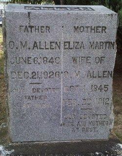 Capt Obediah Meredith Allen