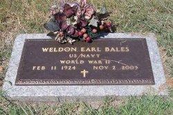 Weldon Earl Bales