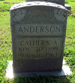 Catherine Ada Cathern <i>Foster</i> Anderson