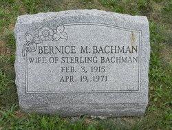 Bernice Marie <i>Study</i> Bachman