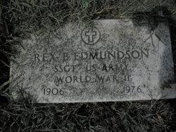 Sgt Rex B. Edmondson